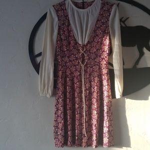 Vintage late 1960s Kelly arden dress